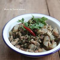 ふみえ食堂のとっておきレシピ  Vol. 173 パクチーたっぷり豚軟骨のエスニック煮