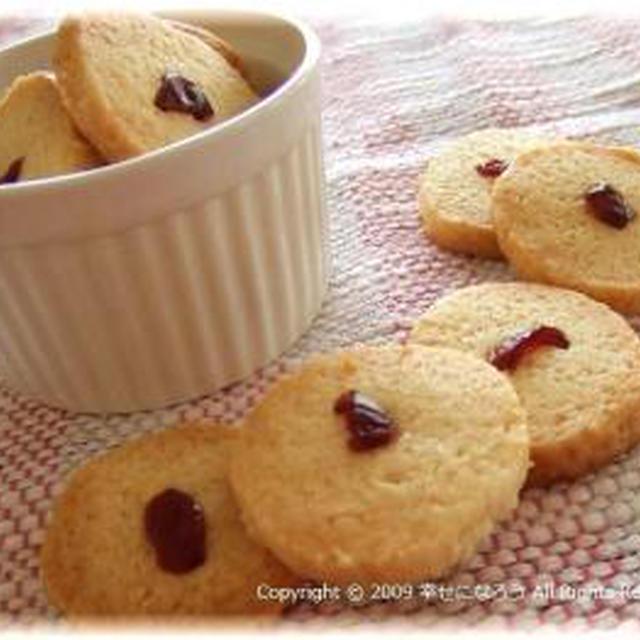 ノンエッグ☆杏仁豆腐味のクッキー