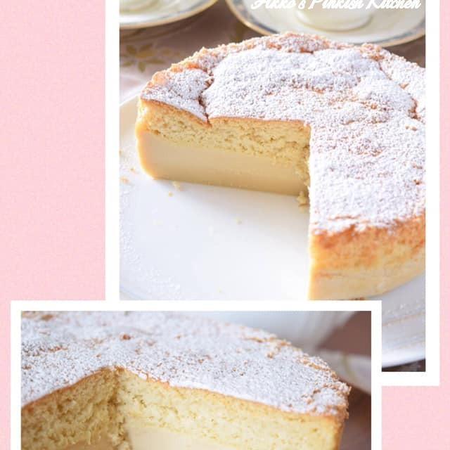 【フランス菓子】ガトーマジック(マジックケーキ)♡勝手に3層になる魔法のケーキ♪