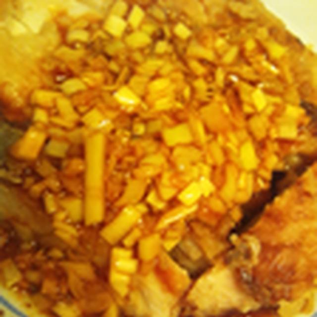 【レシピ】鶏ムネ肉で油淋鶏~鶏肉の香味ソース~