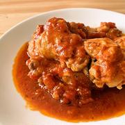 圧力鍋で作る 手羽元のトマト煮