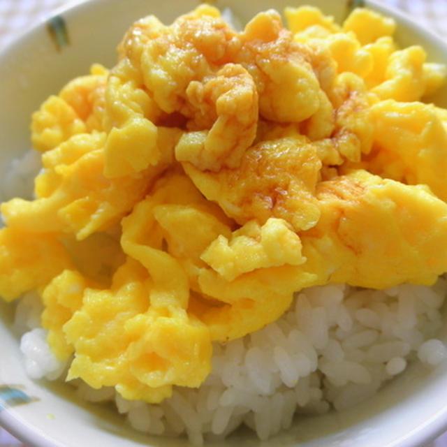 炒り玉丼(プチ丼)