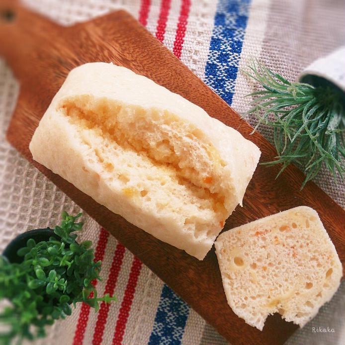 金柑チーズ蒸しパン