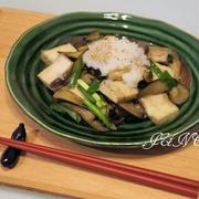 茄子と厚揚げのオイスターソース炒め【もう1品欲しい時の簡単レシピ:工程写真付き】