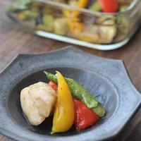 ■【ヤマキだし部】夏野菜と白身魚のとろみだしマリネ♪