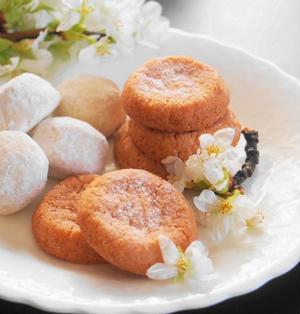サクサク桜クッキー