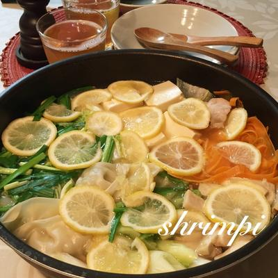 さっぱり♡レモン鍋