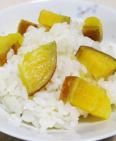 安納芋の炊き込みご飯<甘みと香り抜群>