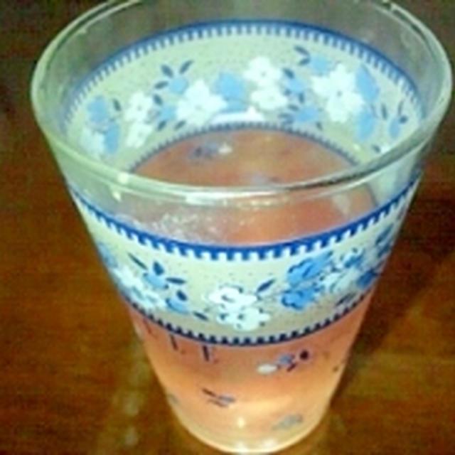 すっぱ爽快☆大葉もピンクにしそジュース
