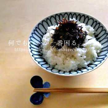 ひじきとカリカリ梅のふりかけ風炒め煮