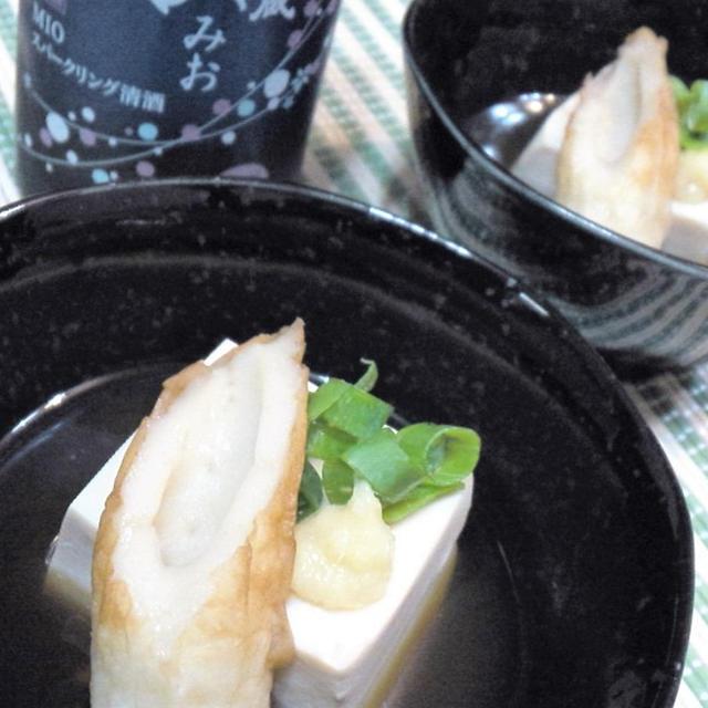 【レシピ】ちょ~簡単!アッという間!竹輪と豆腐のさっぱり煮奴(^^♪