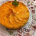 魚焼きグリルで♡桃缶のアップサイドダウンケーキ