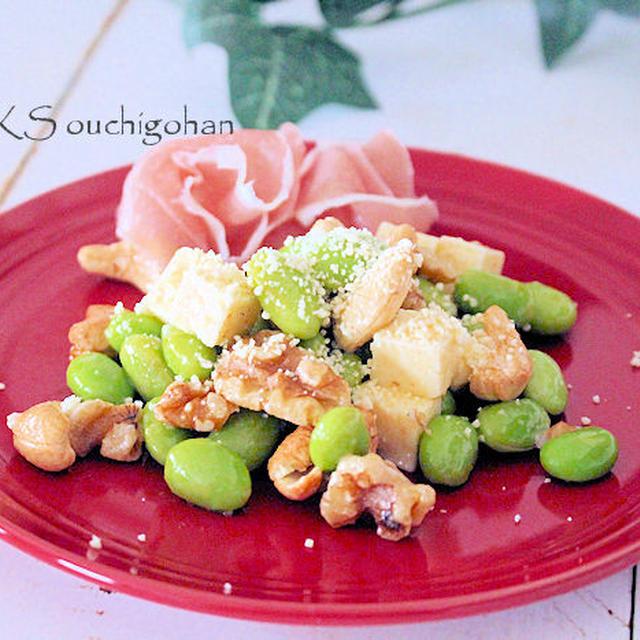【レシピ】枝豆の、超時短めっちゃ美味しいおつまみできた!