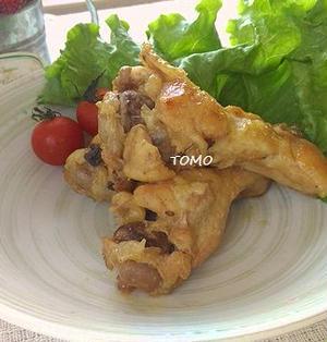 炊飯器で簡単♪リケンのノンオイル中華ごま de 鶏ウィングのさっぱり煮