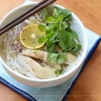 ベトナム料理~鶏肉のフォー~BRITAの水でつくる世界の料理レシピ