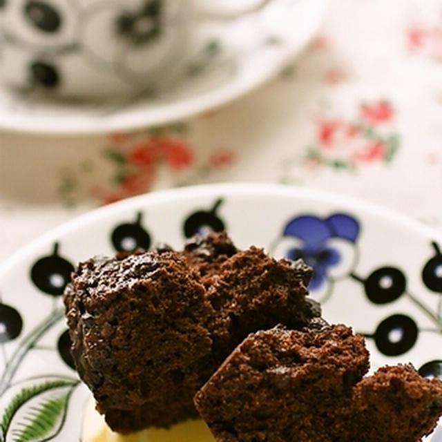 チョコマフィンみたいなチョコ蒸しパン