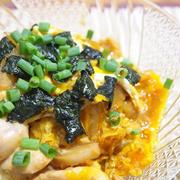 とろ〜り卵の親子丼(低カロササミver.)
