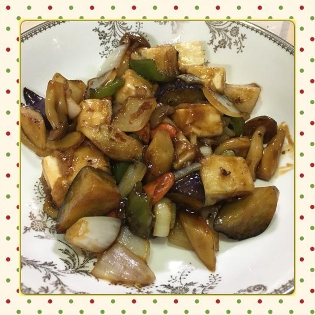豆腐と野菜の甘酢炒め(レシピ付)