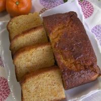 ミカンの皮入りパウンドケーキ