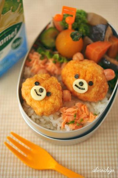 【連載】レシピブログ「ナゲットクマちゃんのお弁当」