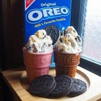 オレオとアイスとチョコだけで作る簡単バレンタインアイス
