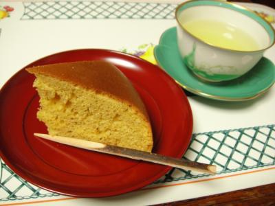ホットケーキミックスで炊飯器ケーキ◆シンプルな黒糖ケーキ◆