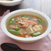 餅入り中華風旨味スープ。【ごはんとも相性◎・とろみありも◎】
