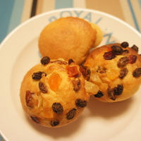 朝食に! ドライフルーツマフィン(レシピ)