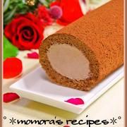 バレンタインにも♡HMで簡単チョコロールケーキ&クックパッドFacebookに…♪