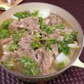 大根と牛バラの鍋。清湯牛腩