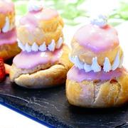 【本日の一皿】≪イチゴのルリルージュ:シュークリーム≫