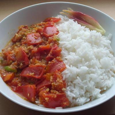 フレッシュトマトのギリギリカレー