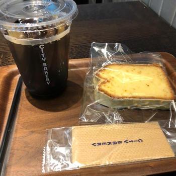 コーヒーでひと休み「ザシティベーカリー」