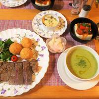 GABANシーズニングの塩麴ステーキ・鯛飯ライスコロッケと6月26日のお弁当