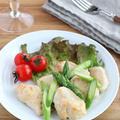 低糖質☆鶏むね肉とアスパラガスの白ワインソテー