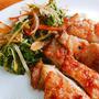 鶏のくわ焼きにリケンのノンオイル「中華ごま」を使ってみた