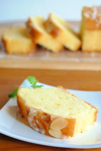 ホットケーキミックスで 爽やかレモンのパウンドケーキ ☆