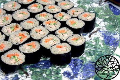 お蕎麦?お寿司?サラダ蕎麦寿司