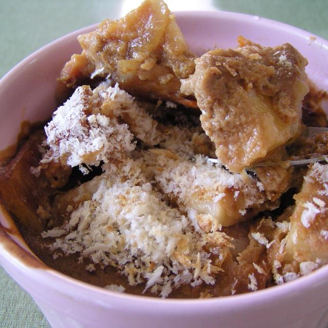 長芋と豆腐の味噌グラタン
