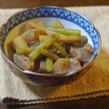 こんにゃくと蕗とごぼうの土佐煮 by KOICHIさん