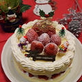 市販のスポンジでズボラなクリスマスケーキ by とまとママさん