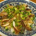 【旨魚料理】アカカマスのづけ炙り丼