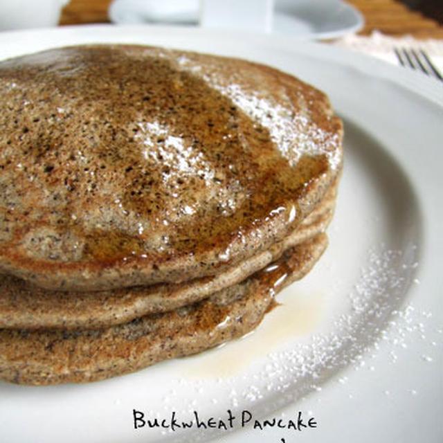そば粉パンケーキ・Buckwheat Pancake
