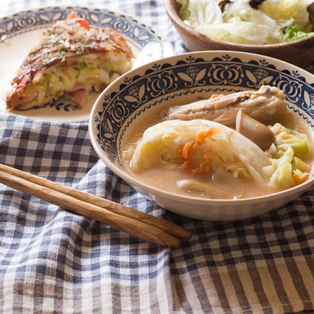簡単に3品同時調理で楽チン夕ご飯