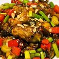 豆豉の香りとコクと旨味が口の中に広がっていく四川風の『牡蠣のピリ辛豆豉炒め』
