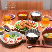 【献立】具沢山お味噌汁で夜ごはん&紫キャベツの常備菜&おもてなし