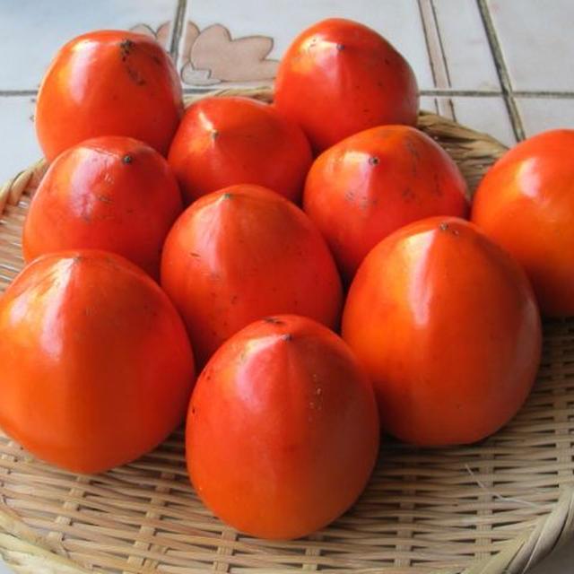 柿の皮のチップス&揚げ物のワンプレートディナー