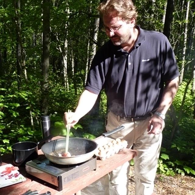 キャンプ中の旦那の波乱万丈お料理の数々