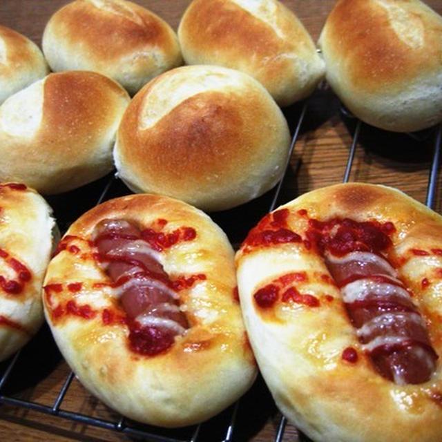 パン2種、お弁当