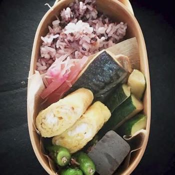 生協の鯖味噌でお弁当